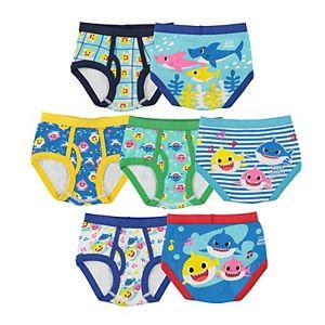 Toddler Boy Baby Shark 7-Pack Briefs
