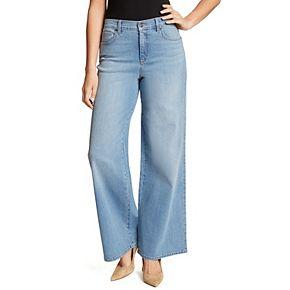 Women's Gloria Vanderbilt High Waist Wide-Leg Jeans