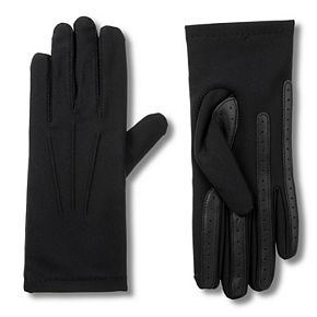 Women's isotoner Spandex Gloves with smarTouch & smartDRI Technologies