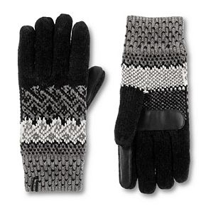 Women's isotoner Chenille Fair Isle Smart Glove