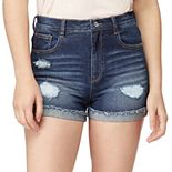 Juniors' WallFlower Insta Vintage Stellar High Rise Shorts