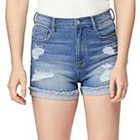 Juniors' WallFlower Insta Vintage Stellar High Rise Shorts
