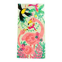 Deals on 3-Count The Big One Flamingo Beach Towel