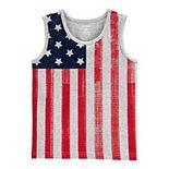 Baby Boy Carter's American Flag Tank Top