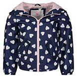 Baby Girl Carter's Print Hooded Jacket