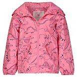Baby Girl Print Hooded Jacket