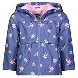 Baby Girl OshKosh B'gosh® Ditsy Floral Midweight Hooded Jacket