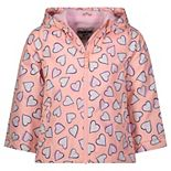 Baby Girl OshKosh B'gosh® Hearts Midweight Hooded Jacket
