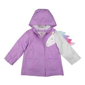 Toddler Girl Carter's Unicorn Rain Jacket