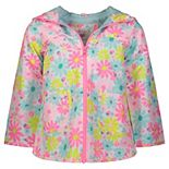 Toddler Girl Carter's Printed Rain Jacket