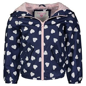 Toddler Girl Carter's Printed Windbreaker Jacket