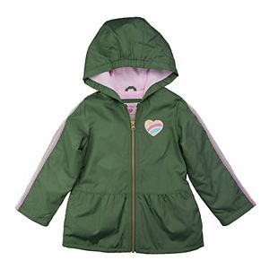 Toddler Girl Carter's Midweight Hooded Jacket