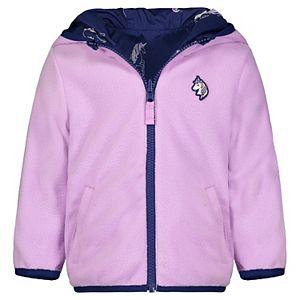 Girls OshKosh B'gosh® Unicorn Print Reversible Jacket