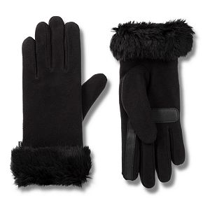 Women's isotoner Fleece Gloves with SmartTouch Technology