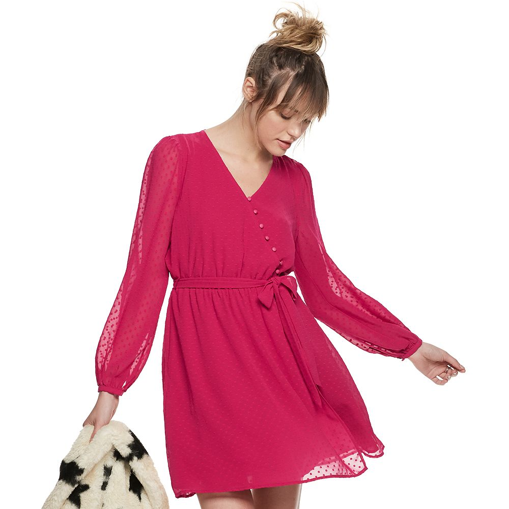 Women's POPSUGAR Surplice Mini Dress