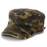 Women's SO® Distressed Camo Cadet Hat