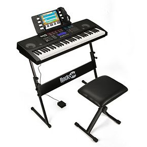 Rock Jam 61 Keyboard SuperKit with Bluetooth