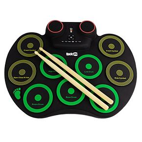 Rock Jam Roll Up Drum Kit with Bluetooth