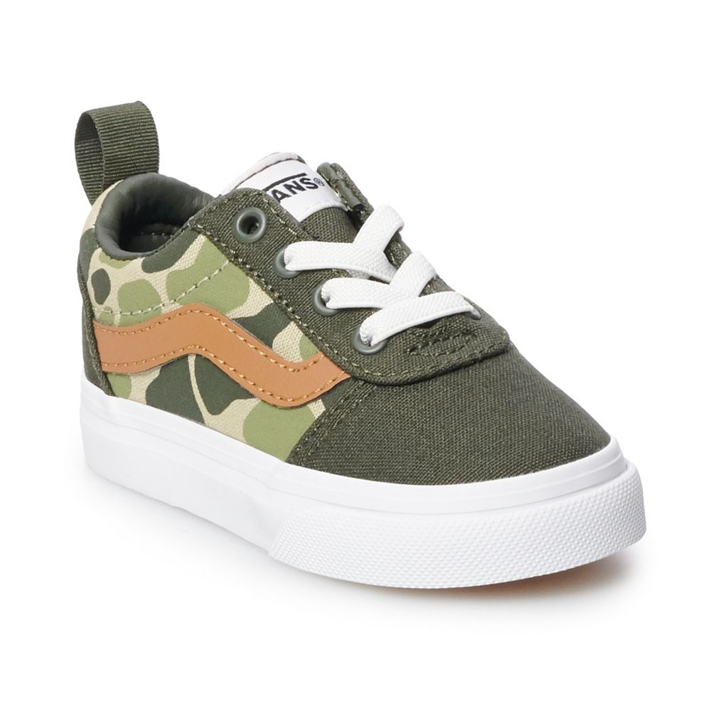 Vans Ward Toddler Boys' Slip On Skate Shoes
