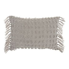 Mina Victory Life Styles Cut Fray Texture Throw Pillow