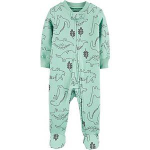 Baby Boy Carter's Dinosaur 2-Way Zip Sleep & Play