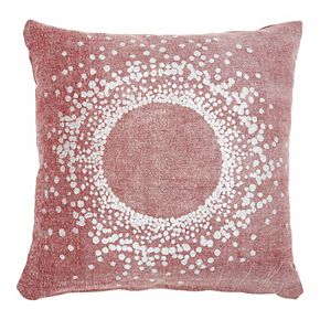 Mina Victory Life Styles Metallic Eclipse Throw Pillow