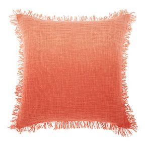 Mina Victory Life Styles Woven Ombre Throw Pillow