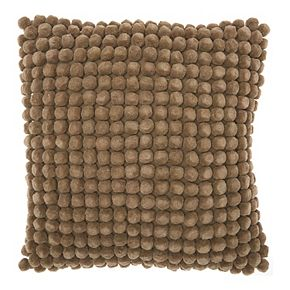 Mina Victory Pom Collection Throw Pillow