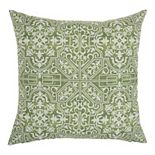 Mina Victory Printed Tiles Indoor/Outdoor Throw Pillow