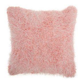 Mina Victory Shag Candy Lurex Shag Throw Pillow