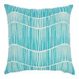 Mina Victory Printed Wavy Lines Indoor/Outdoor Throw Pillow