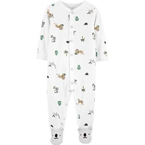 Baby Carter's Animals Snap-Up Cotton Sleep & Play