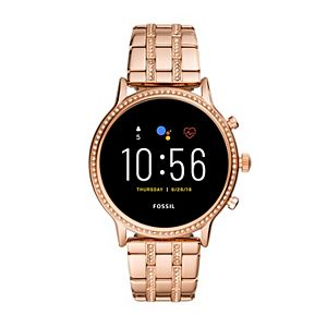 Fossil Gen 5 Julianna HR Rose Gold Tone Smart Watch - FTW6035