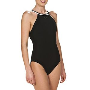 Plus Size Arena Therese Crossback Performance One-Piece Swimsuit