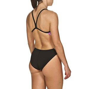Plus Size Arena Riviera Challenge Back One-Piece Swimsuit