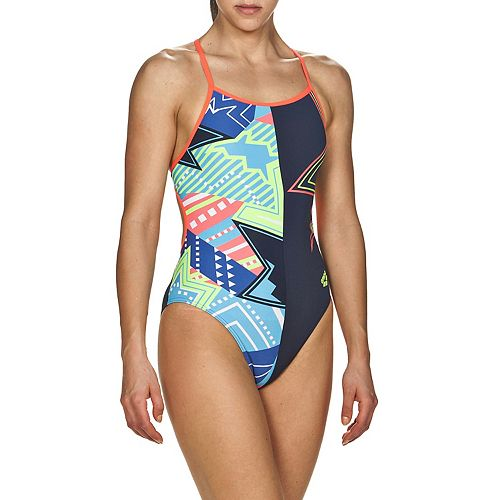 Women's Arena Lightshow Accelerate Back Performance One-Piece Swimsuit