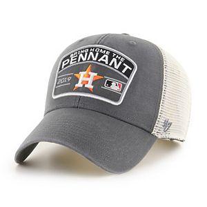 Adult '47 Brand Houston Astros 2019 Postseason Adjustable Cap