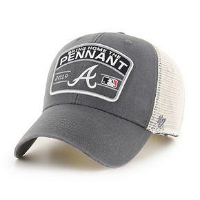 Adult '47 Brand Atlanta Braves 2019 Postseason Adjustable Cap