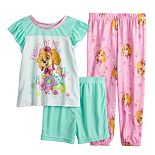 "Toddler Girl Paw Patrol 3 Piece ""Proud of Me"" Skye Pajama Set"