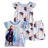 Disney's Frozen 2 Toddler Girl 3 Piece Pajama Set