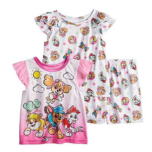 Toddler Girl PAW Patrol 3 Piece Pajama Set