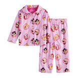 Disney Princess Toddler Girl 2 Piece Pajama Top & Pants Set