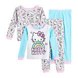 Toddler Girl Hello Kitty 4 Piece Pajama Set