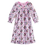 Disney's Minnie Mouse Toddler Girl Ruffled Nightgown