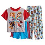 Toddler Boy Paw Patrol 3 Piece Skye, Marshall, Rubble & Chase Pajama Set