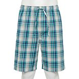 Men's Croft & Barrow® Stretch Woven Pajama Short