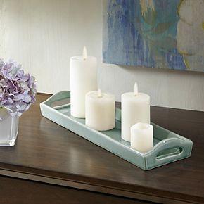 Madison Park Trice Ceramic Plate
