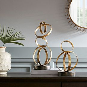 Madison Park Anelli Ring Tabletop Decor