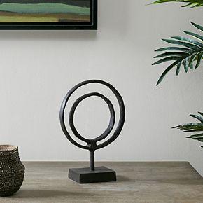 Madison Park Mara Small Ring Object Decor
