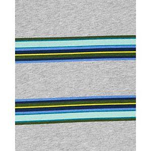 Boys 4-14 Carter's Striped Pocket Jersey Tee